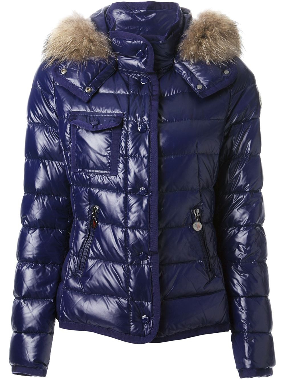 Lyst Moncler Armoise Padded Jacket In Blue