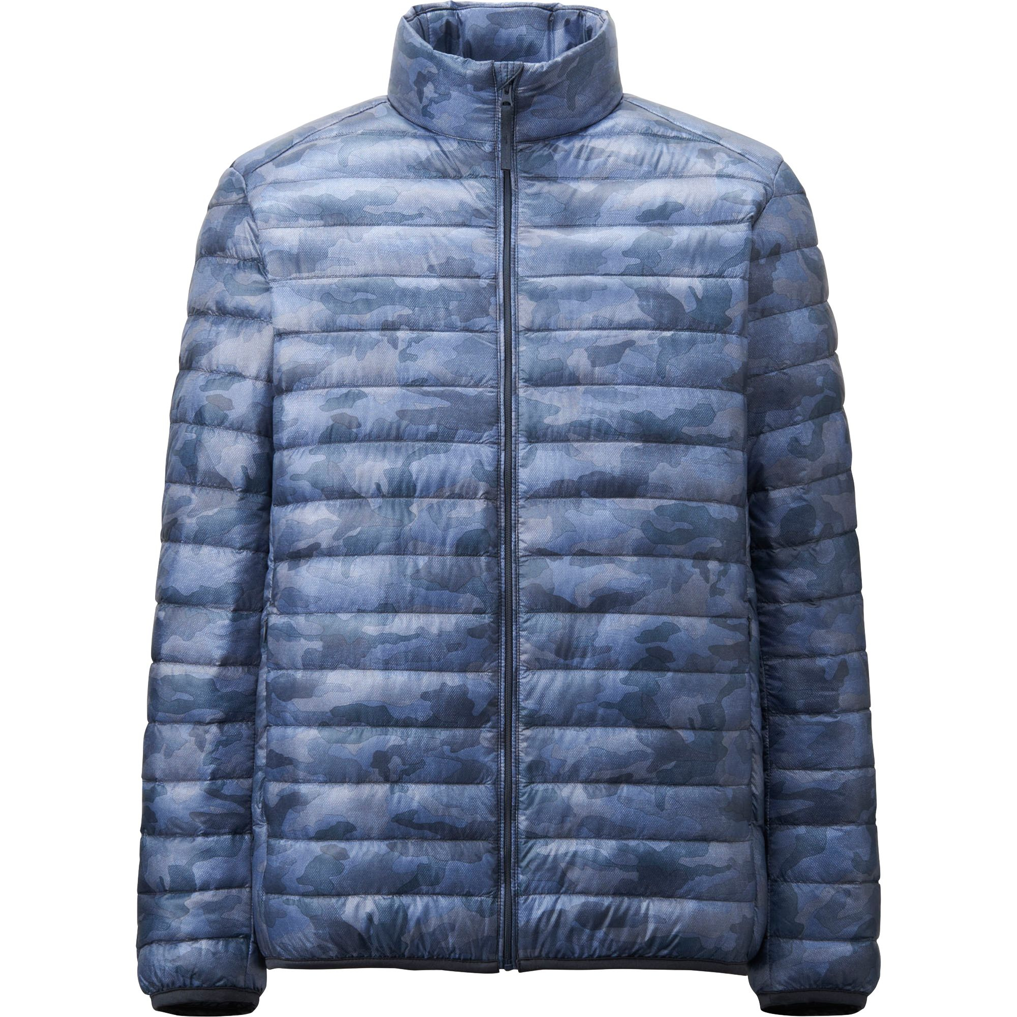 uniqlo men water defender ultra light down jacket in blue for men. Black Bedroom Furniture Sets. Home Design Ideas