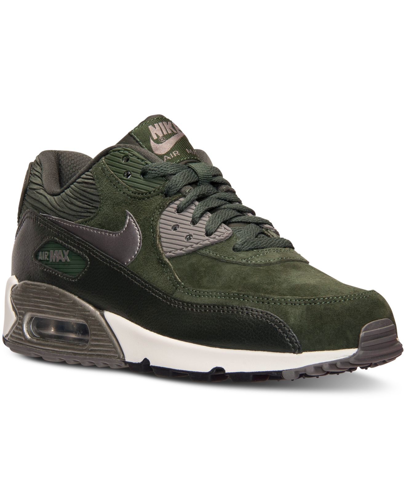 Lyst - Nike Women's Air Max 90 Leather Running Sneakers ...