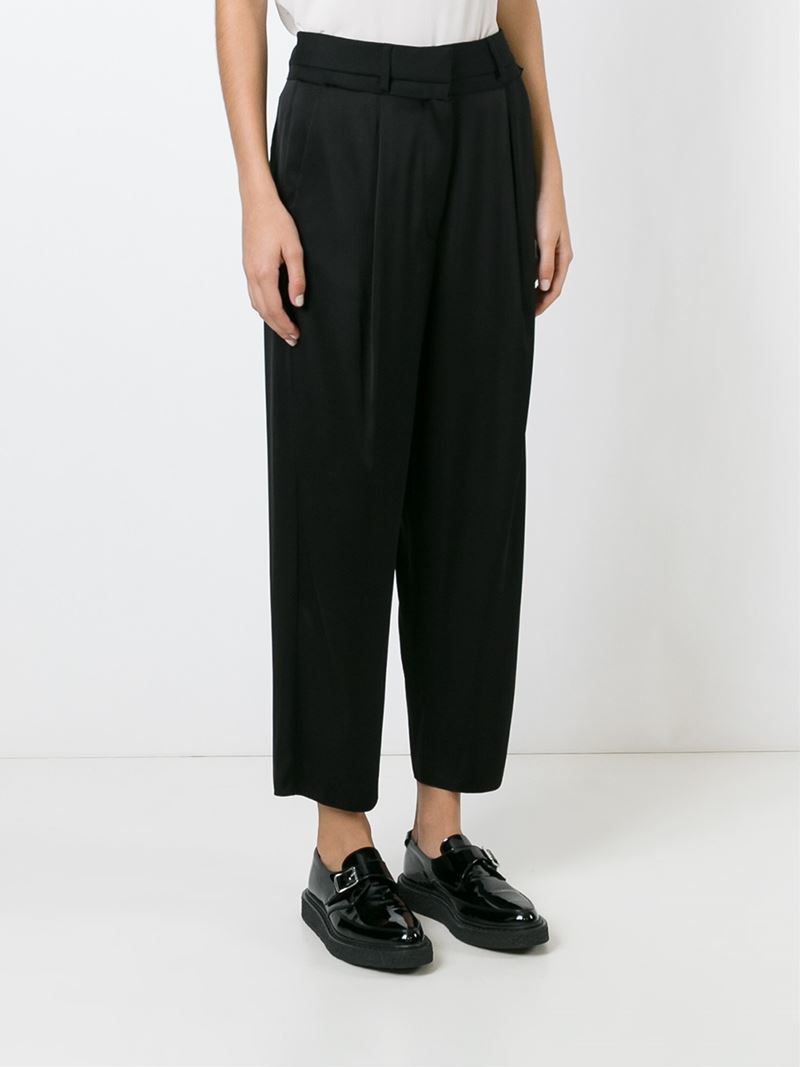 wide leg trousers - Black Maison Martin Margiela EtWmfE