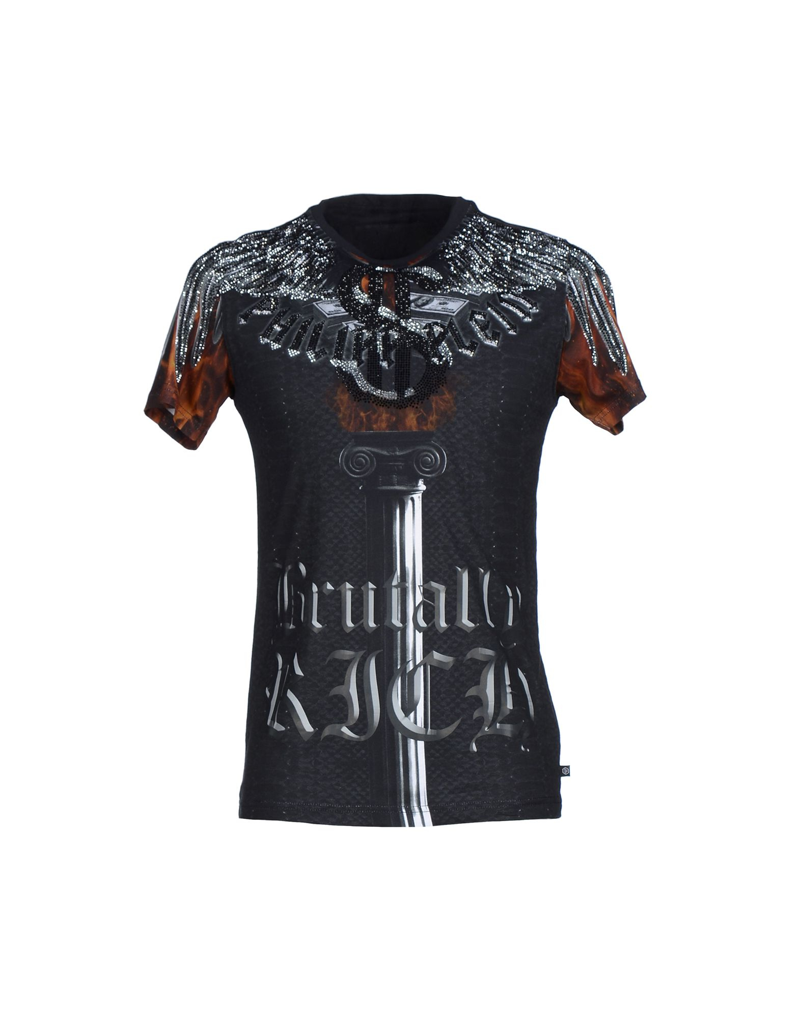 philipp plein t shirt in black for men lyst. Black Bedroom Furniture Sets. Home Design Ideas
