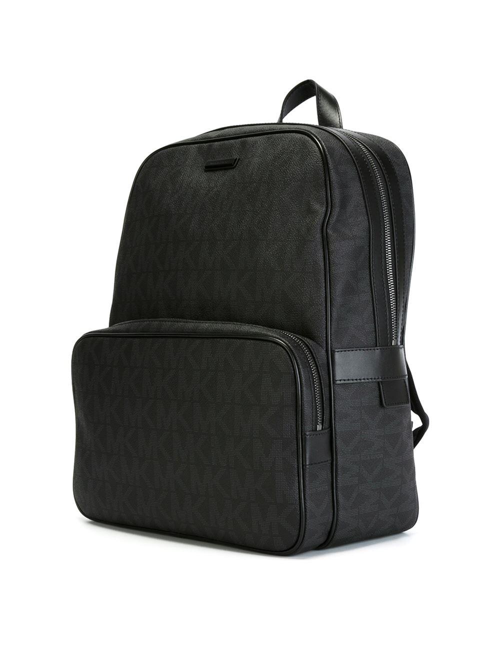 72d67d91abcf9d Michael Kors 'jet Set Logo' Backpack in Black for Men - Lyst