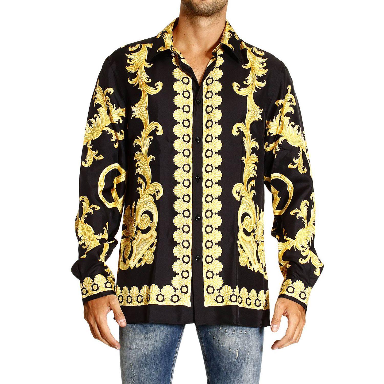 versace shirts gold dsquared2 uk. Black Bedroom Furniture Sets. Home Design Ideas
