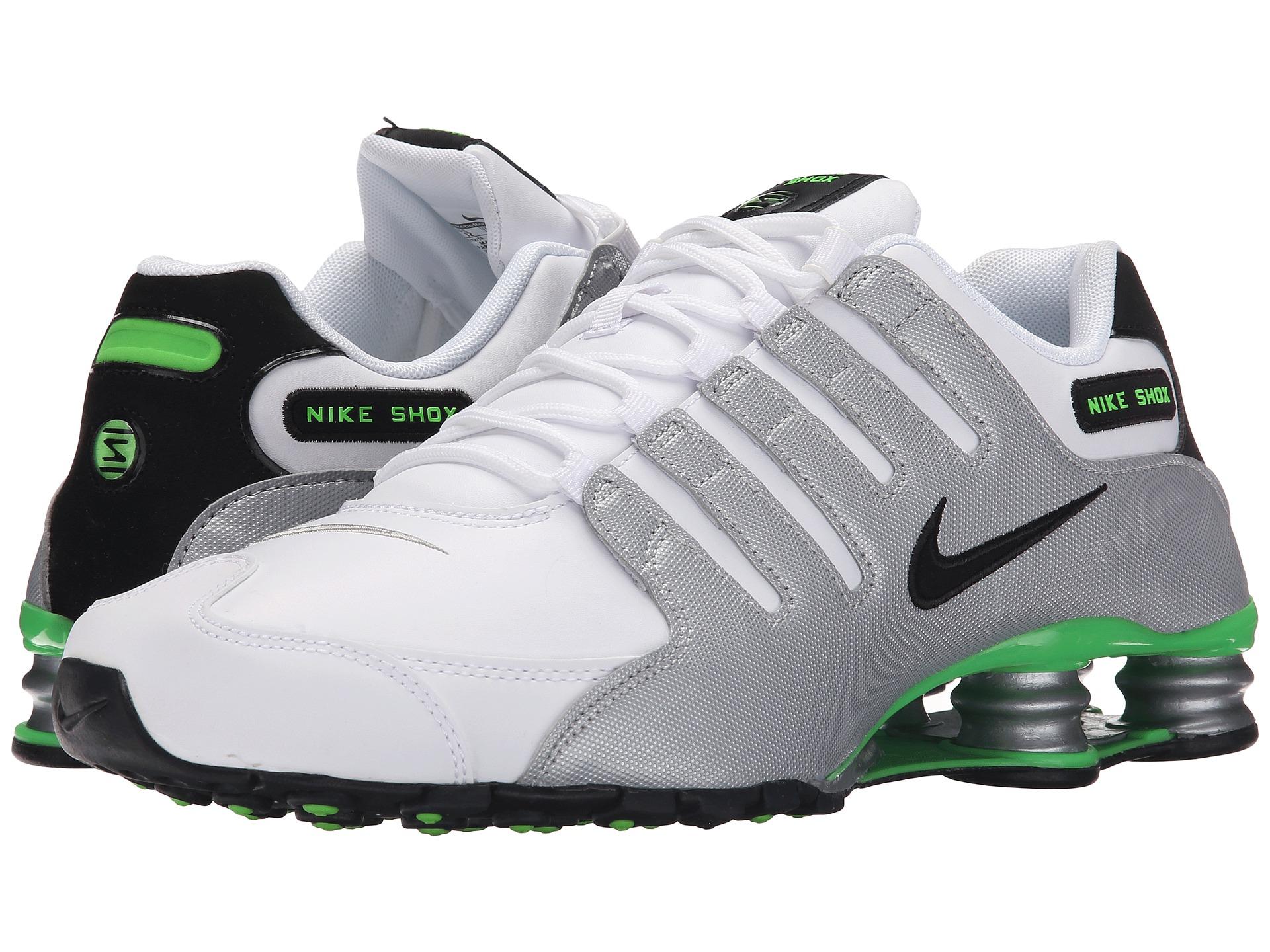 Nike Shox Nz In White For Men Lyst