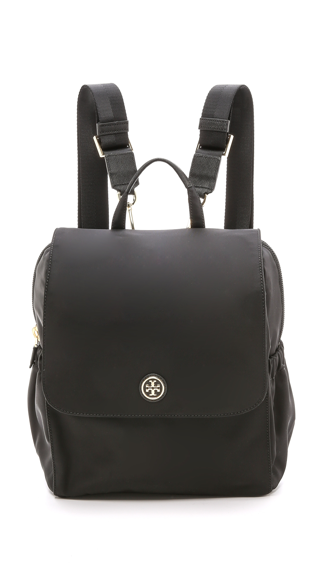 Tory Burch Travel Nylon Baby Backpack Black In Black Lyst