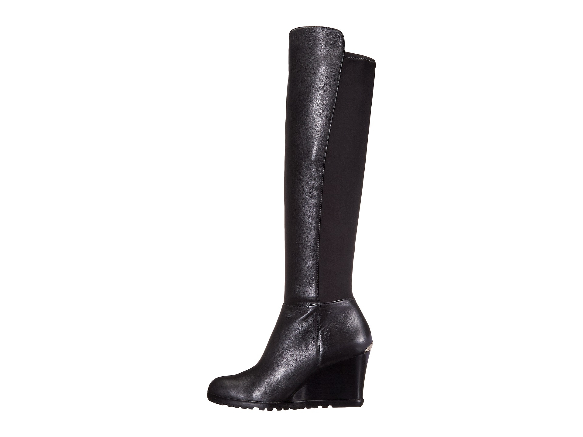 9377ce26a7fd Lyst - MICHAEL Michael Kors Woods Wedge Boot in Black
