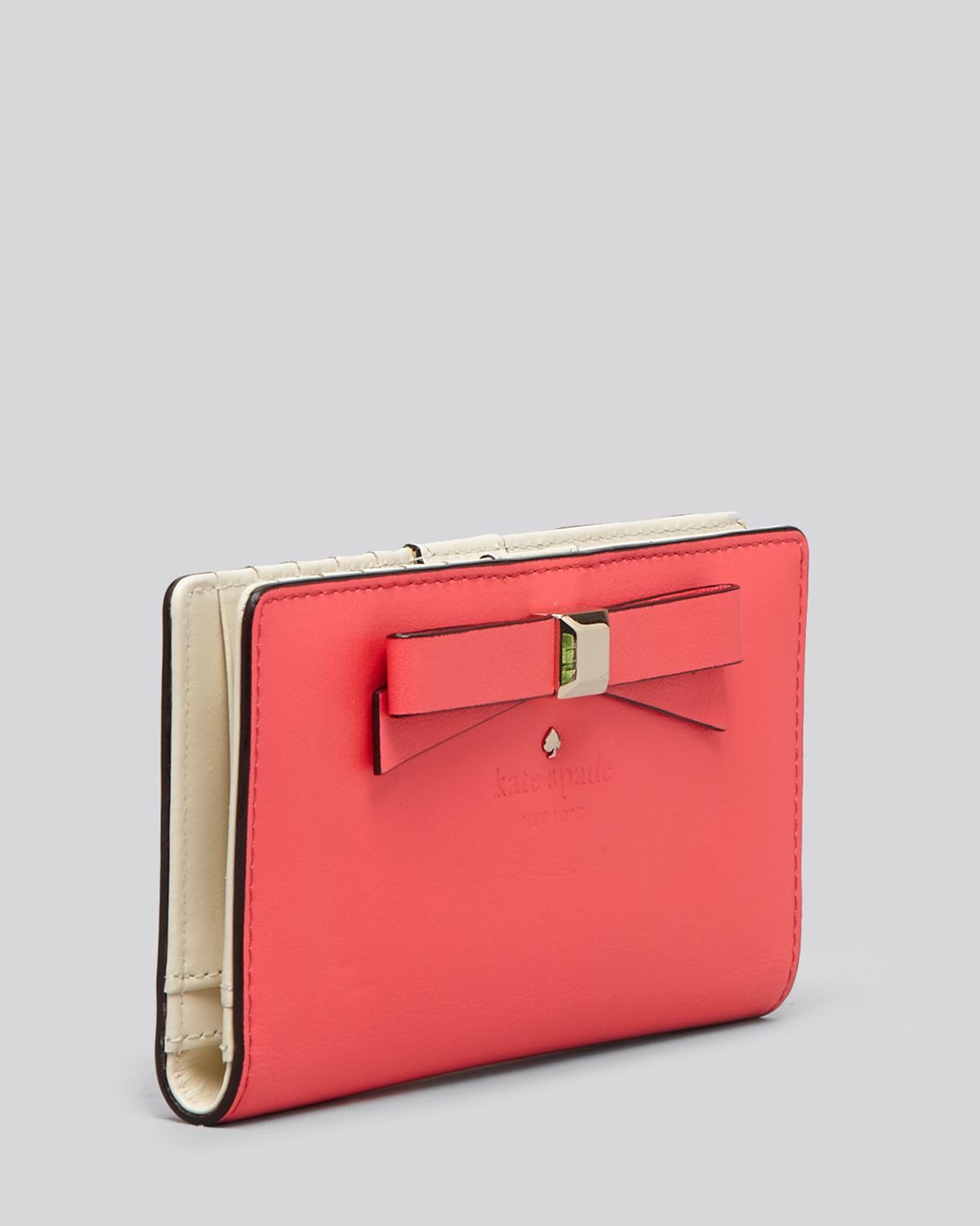 f99f7e94d161 Kate Spade Wallet Holly Street Stacy Continental in Pink - Lyst