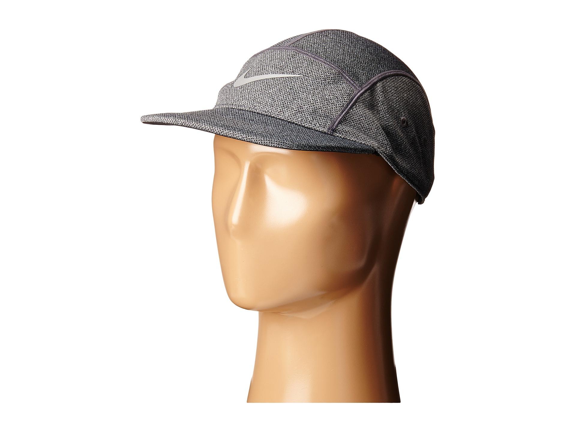 bc345230fc70fc ... discount lyst nike run dri fit knit aw84 hat in metallic for men eec4e  e8fa9