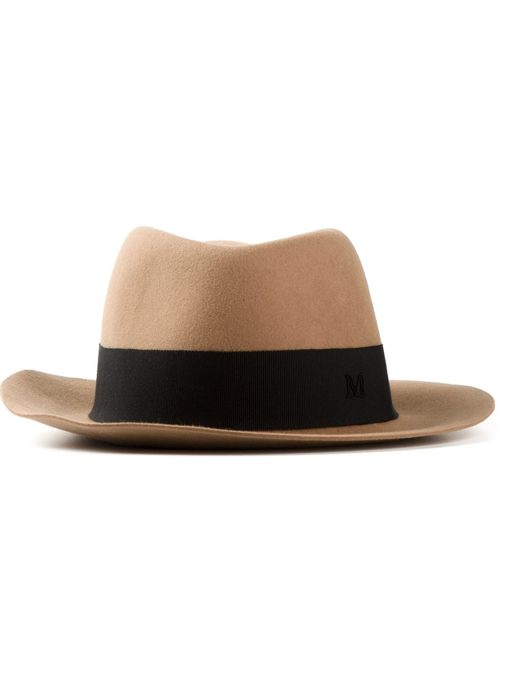 Lyst maison michel andre hat in natural for Maison michel