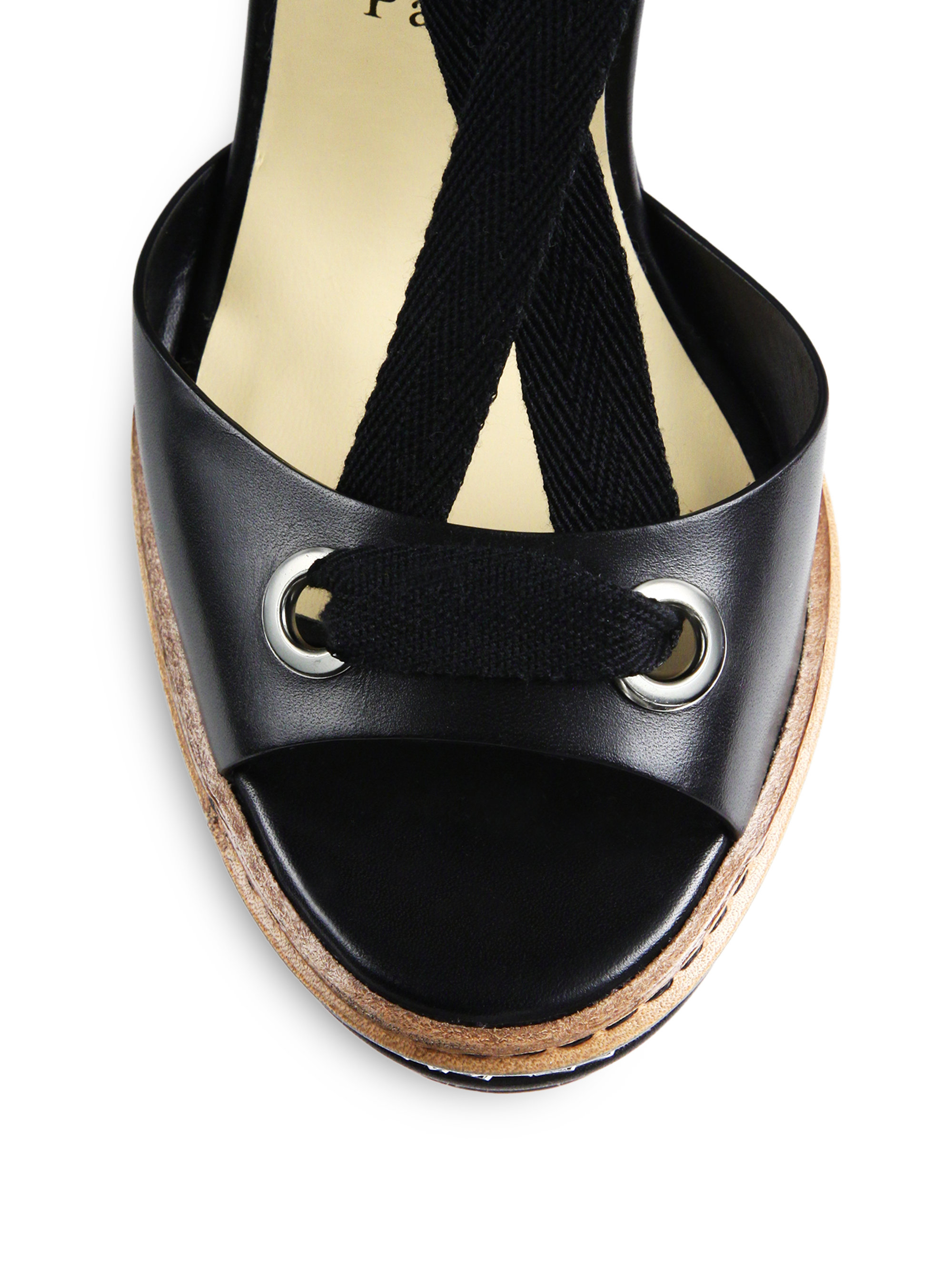 christian louboutin copy - christian louboutin slide espadrille wedges Black suede | The ...