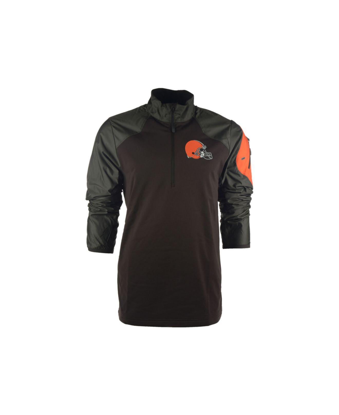Cleveland Browns Logo Pullover Hoodie Black Amp Blue 168 C