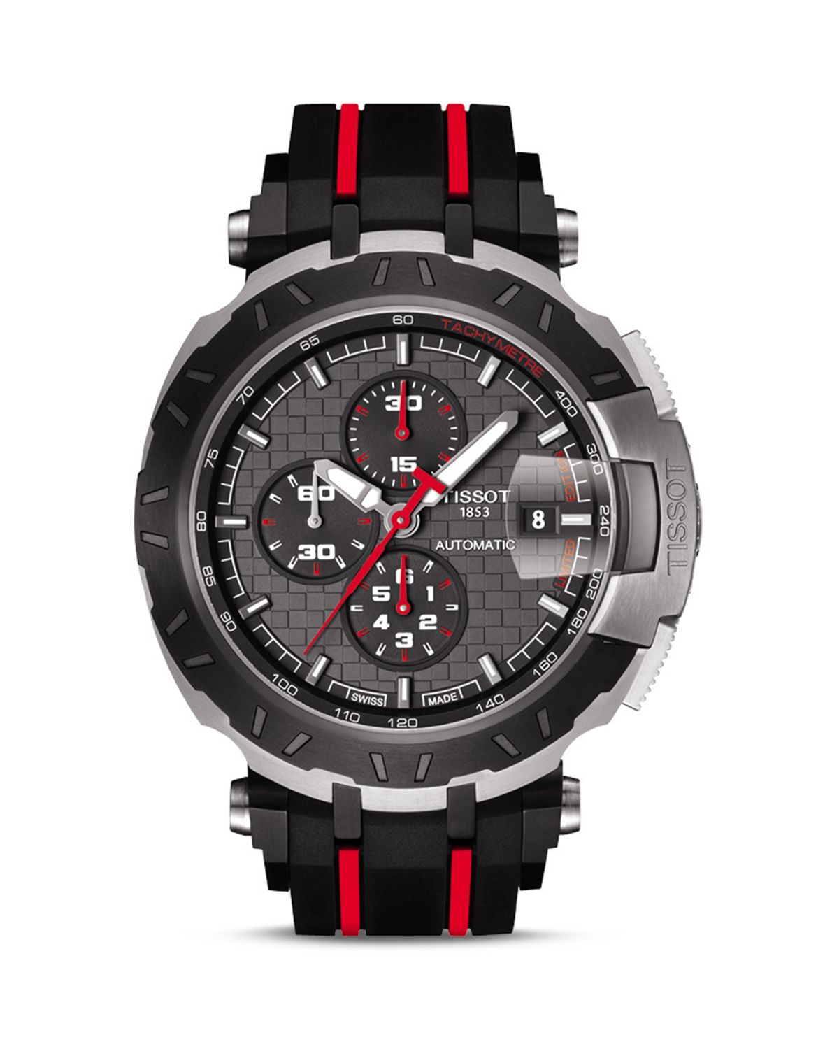 Tissot T-Race Motogp Limited Edition 2015 Men'S Automatic Chronograph, 45Mm in Black for Men | Lyst