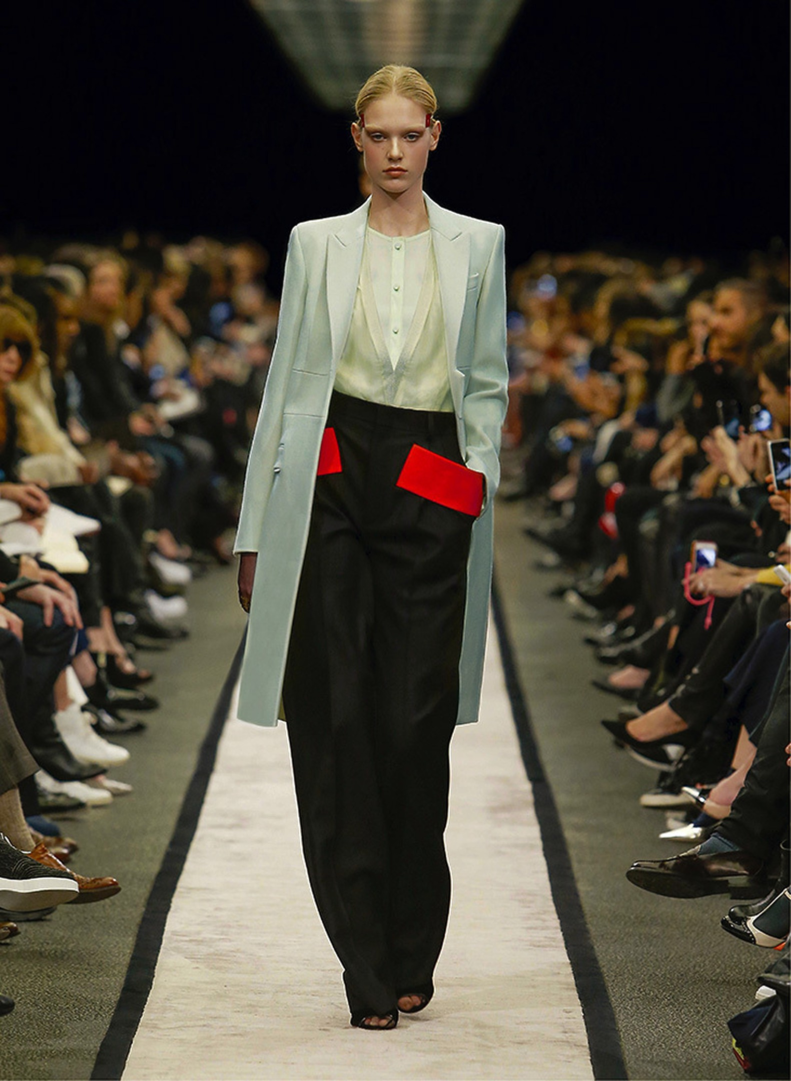 Wool Wide Leg Pants Fall/winter Givenchy