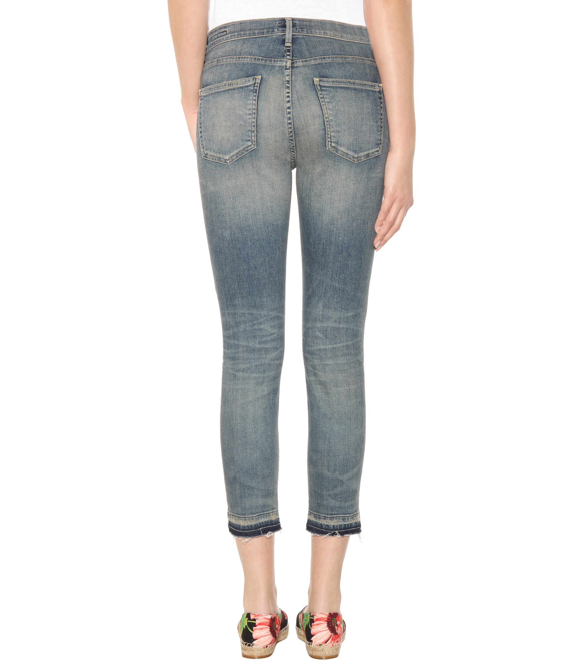 citizens of humanity rocket high rise skinny jeans in blue. Black Bedroom Furniture Sets. Home Design Ideas