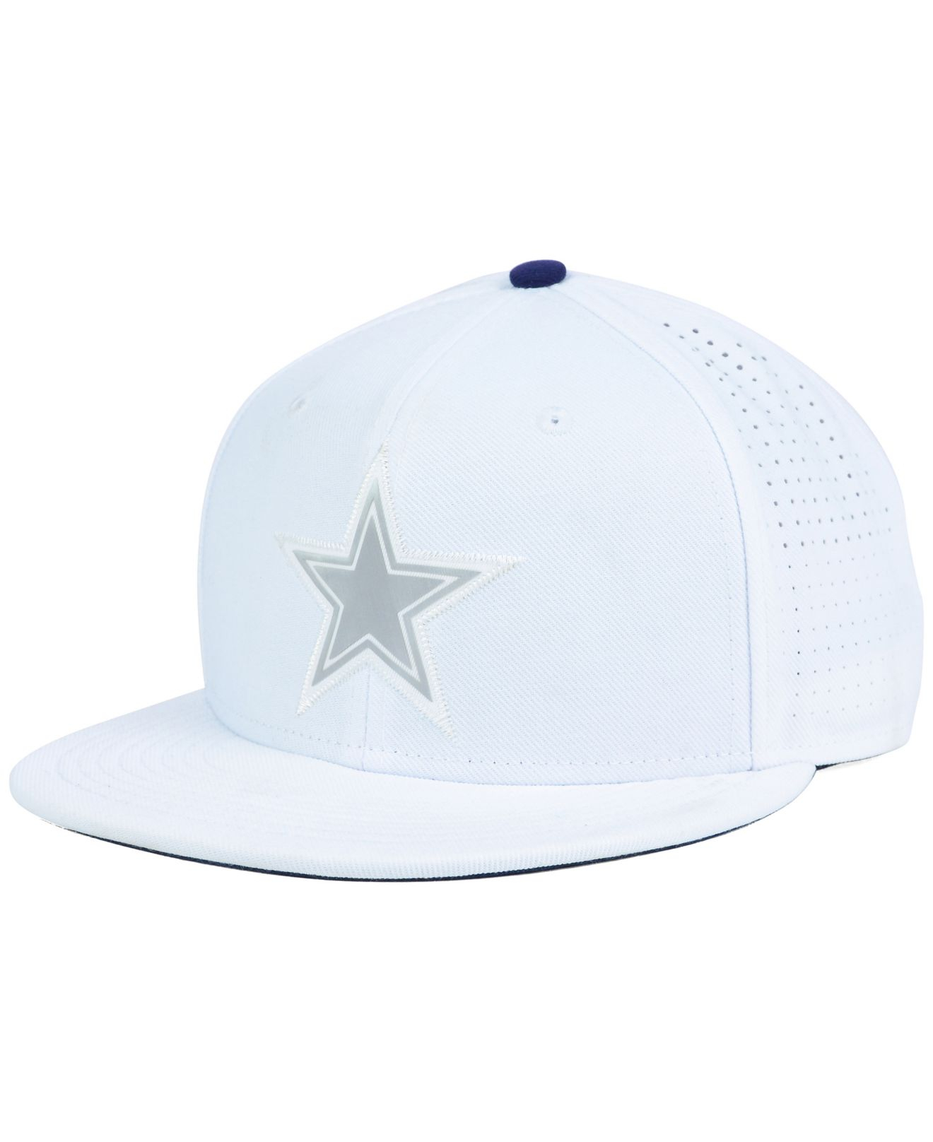 1813675751d332 ... new arrivals lyst nike dallas cowboys true vapor fitted cap in white  for men ba5b6 c234d
