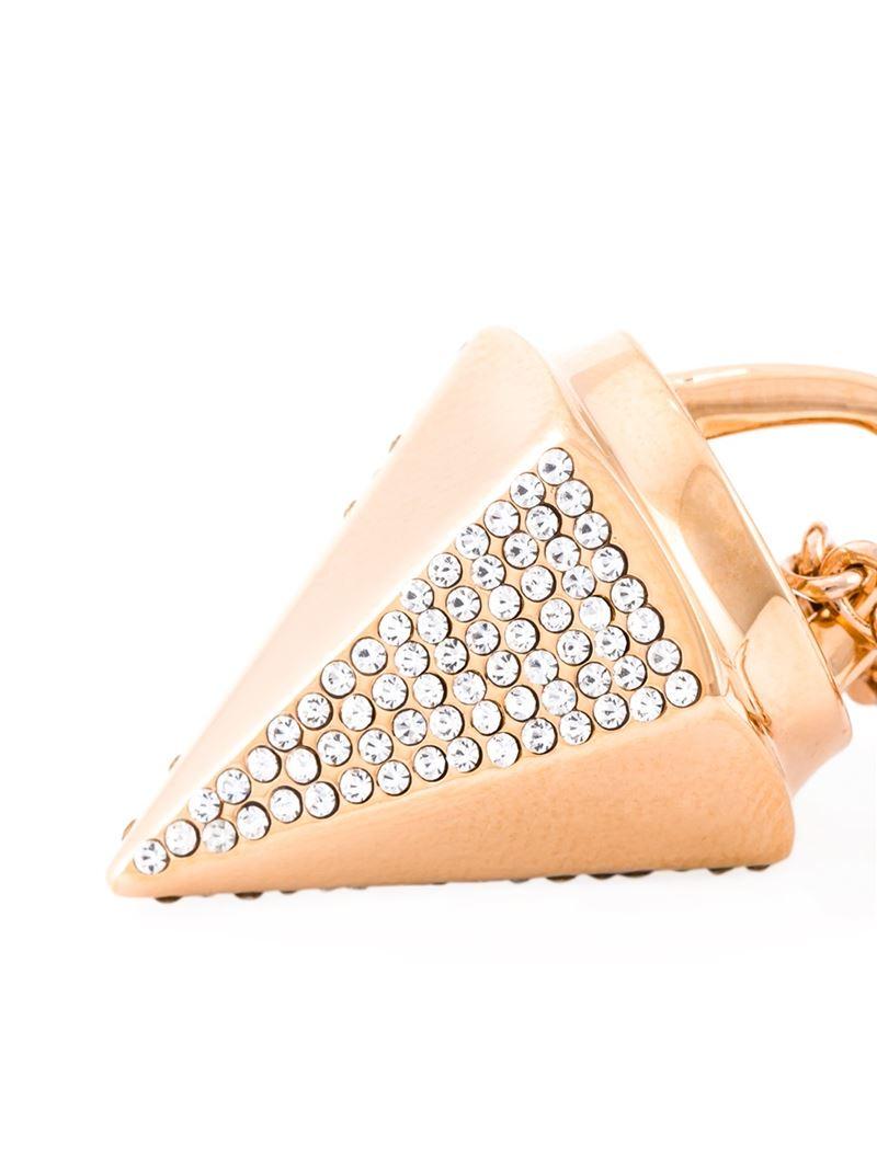 Vita Fede Mini 'thea Crystal' Necklace in Metallic