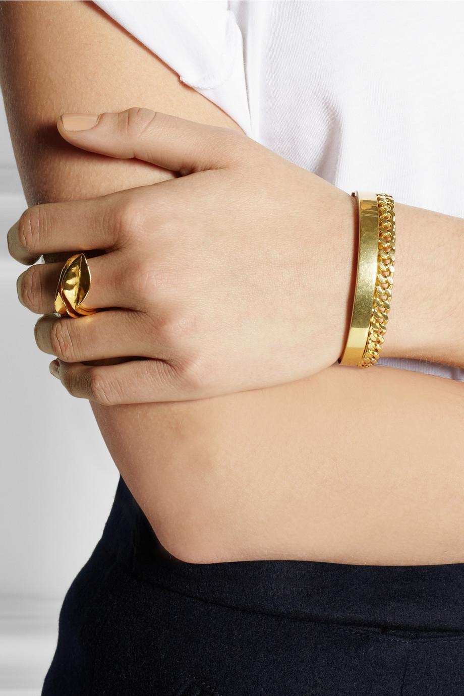 Chloé Golden bracelet pcb6yi