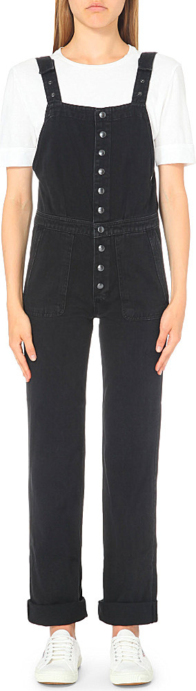 45d5c7e446ed Gallery. Previously sold at  Selfridges · Women s Denim Jumpsuits Women s  Denim Dungarees ...