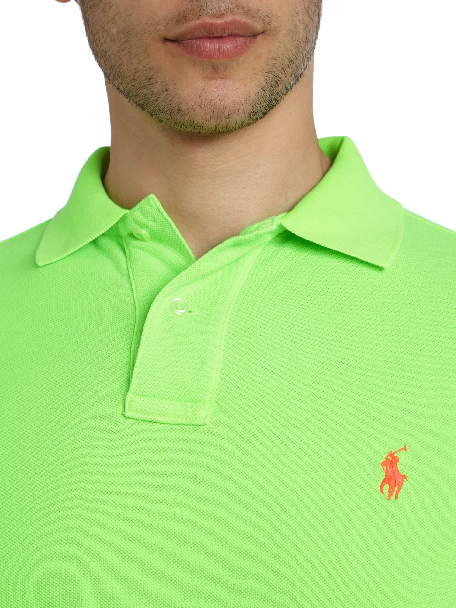 Price 72059 Ralph Lauren Neon Green Polo Bb4a9 Low wTOPkZliuX