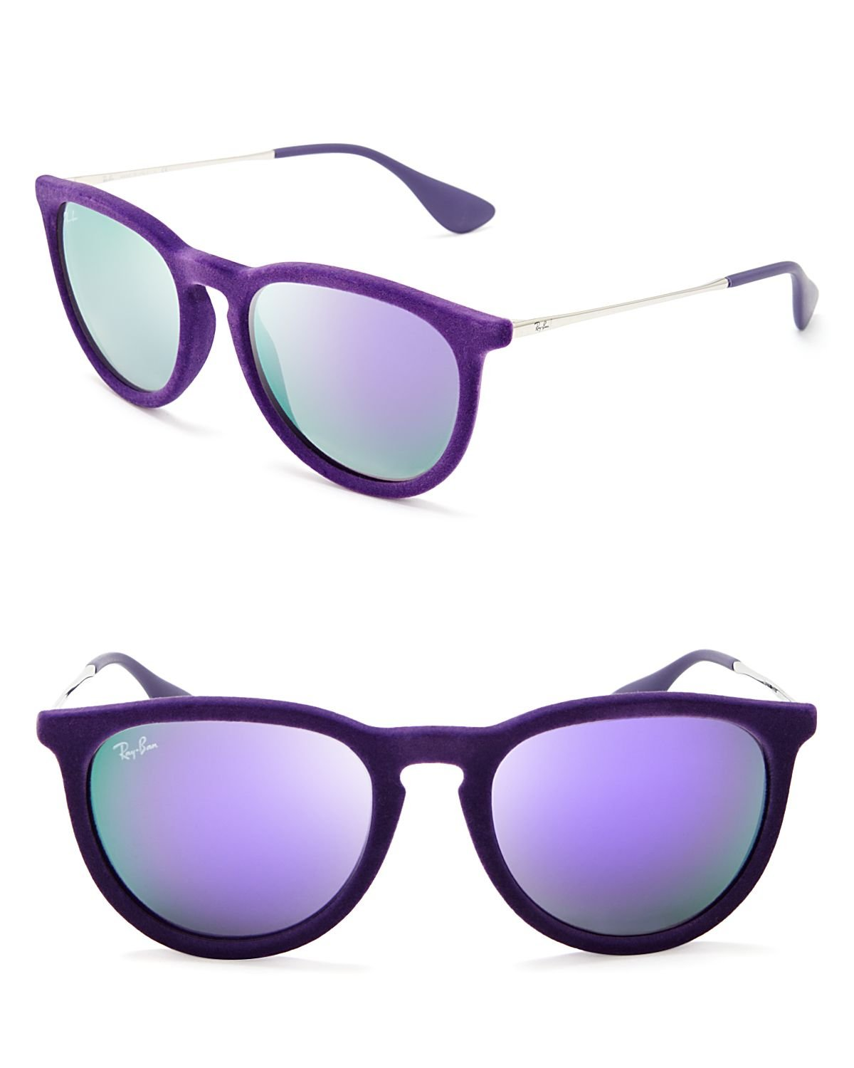 ray ban velvet round keyhole sunglasses  gallery. previously sold at: bloomingdale's · men's round sunglasses