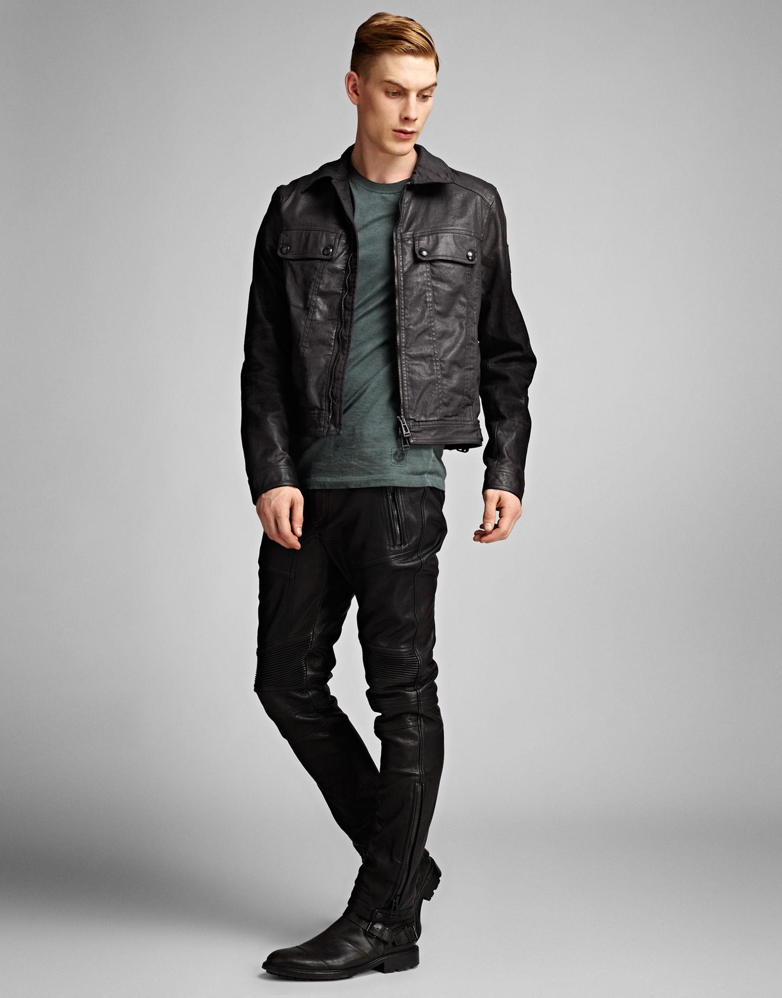 belstaff tillington jacket in black for men lyst. Black Bedroom Furniture Sets. Home Design Ideas