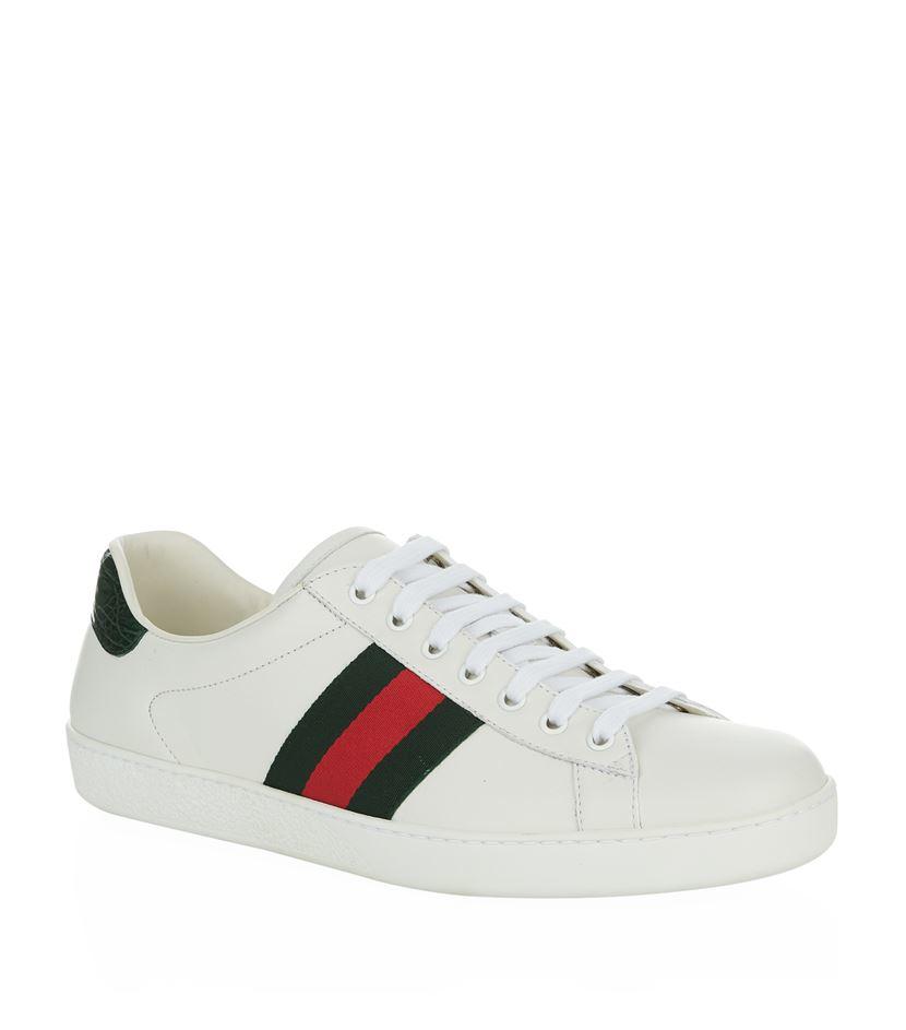 208ef1697be New Gucci. Gucci Gucci Sneaker new Sneakers Leather White ref.52849 - Joli  Closet