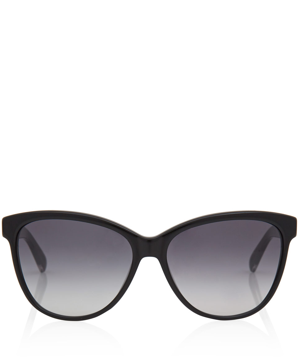 61752322f82f Marc By Marc Jacobs Black Acetate Cat Eye Sunglasses in Black - Lyst