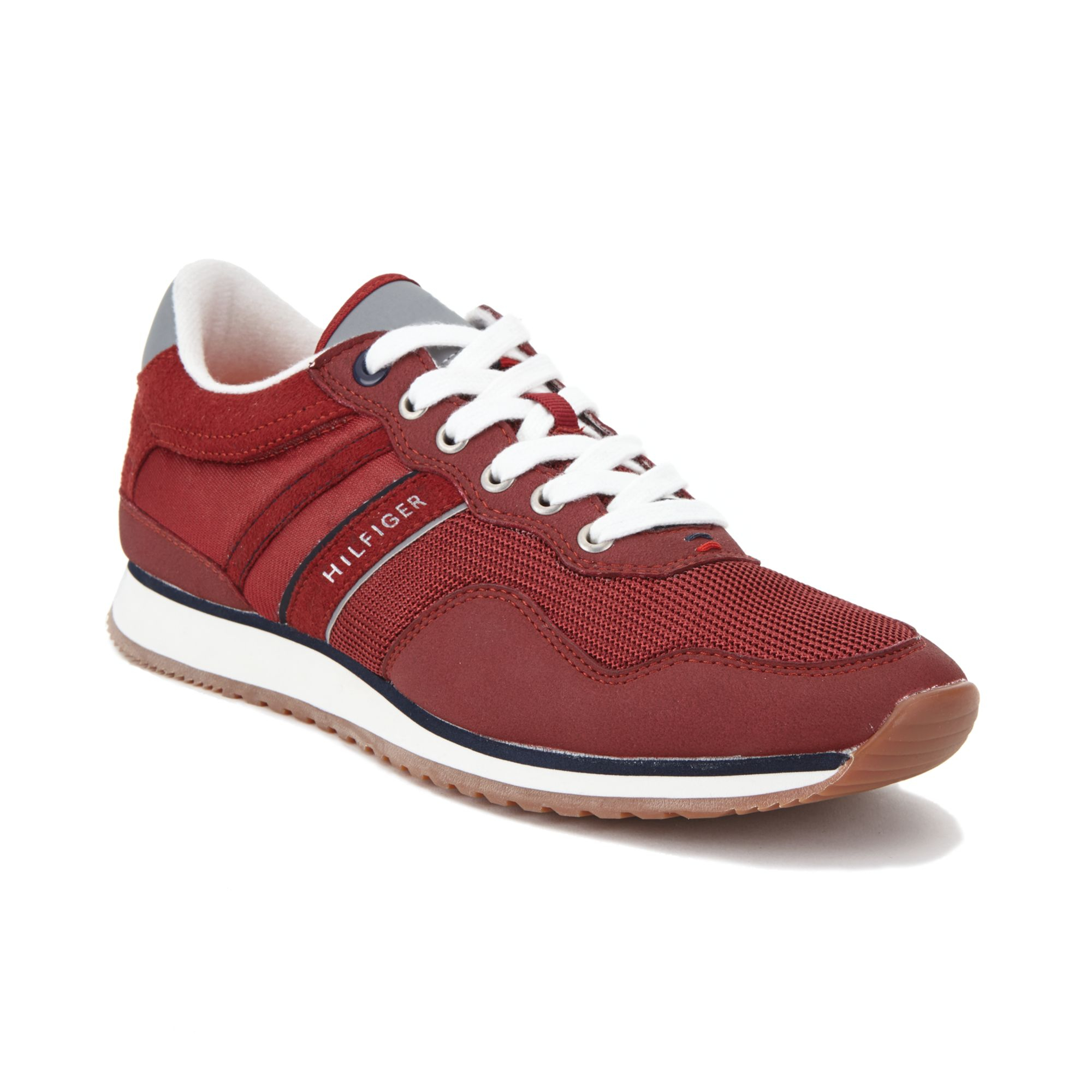 b3769a34fbecc9 Lyst - Tommy Hilfiger Marcus Sneakers in Red for Men