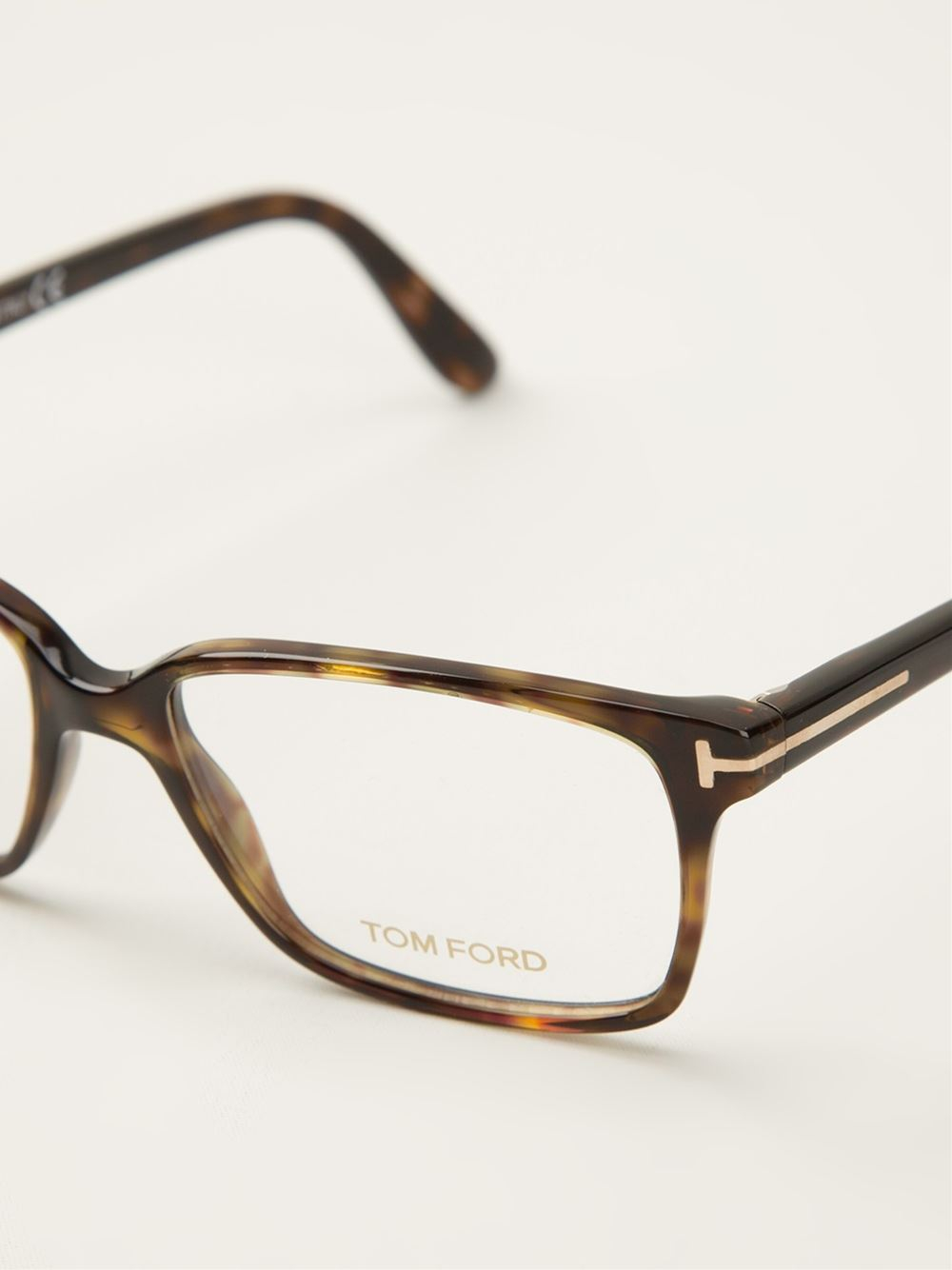 7cc32cff9d4 In Men Tom Brown For Lyst Ford Shell Tortoise Glasses zvn6gqw