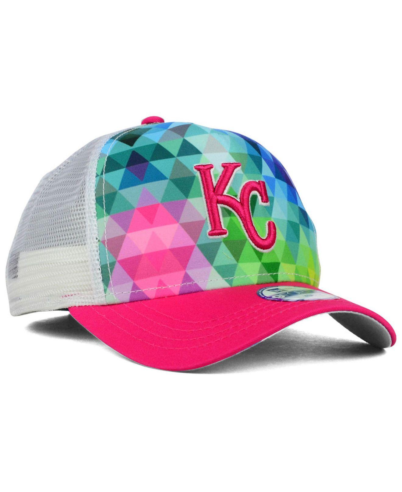online store 5a69d 5beb9 ... hat cap adjustable kc a4b02 fd21e  sweden lyst ktz kids kansas city  royals gem trucker 9forty cap for men b821a ea0a7