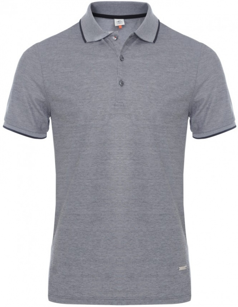 4c8123bf871 Cerruti 1881 Mercerised Polo Shirt in Gray for Men - Lyst