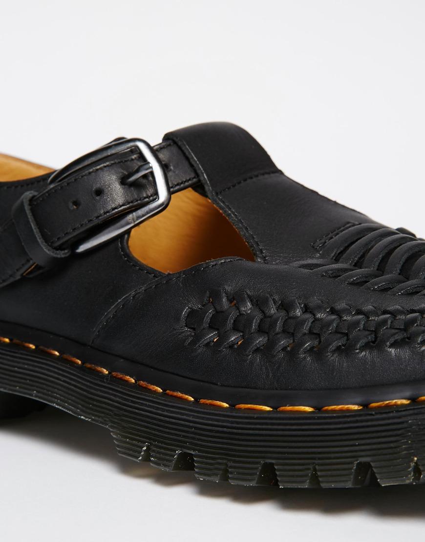 dr martens t bar shoes