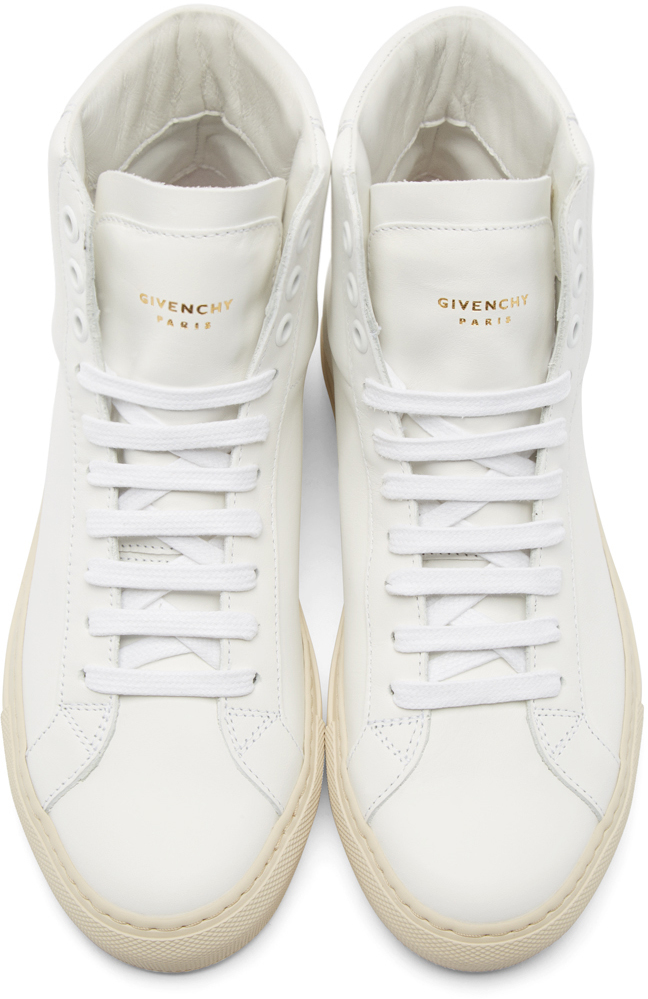 Logo Baskets Salut-top - Blanc Givenchy lflM3