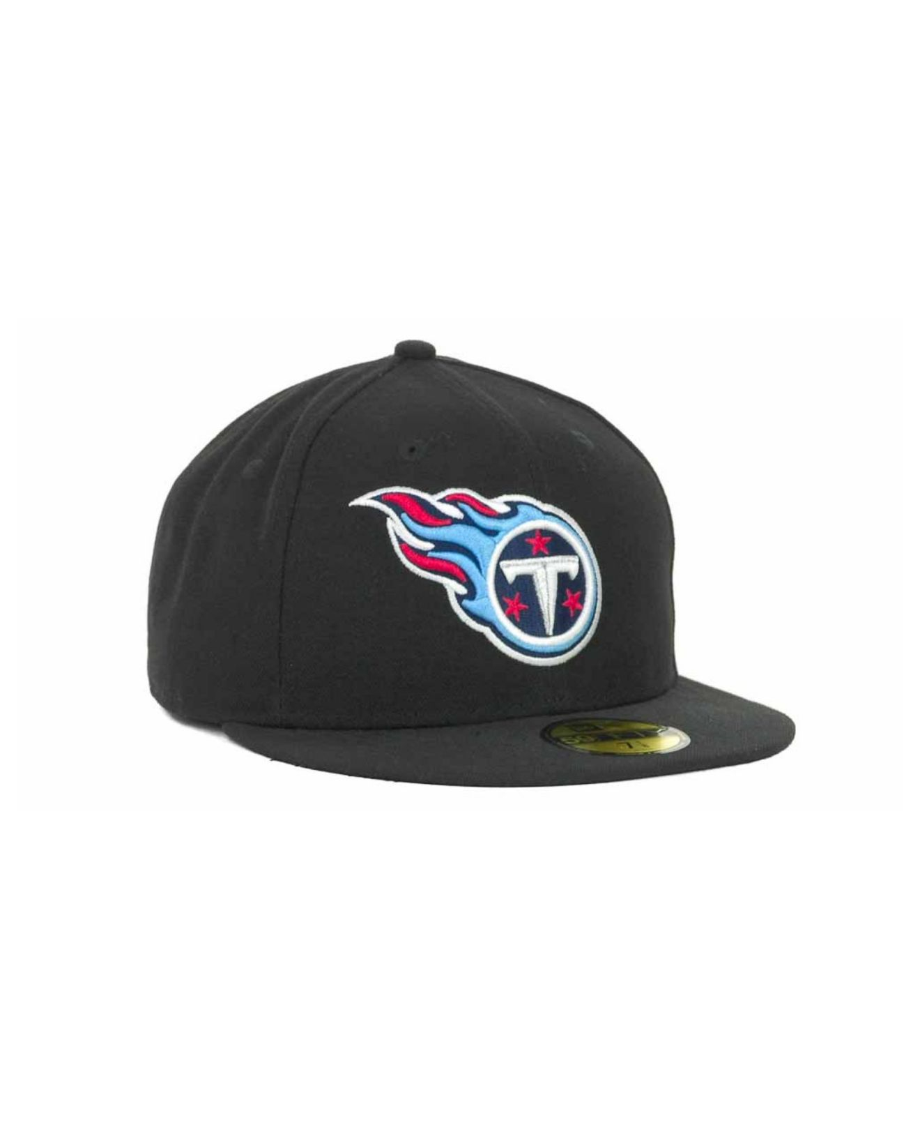 buy online 4beea e4929 ... inexpensive lyst ktz tennessee titans nfl black team 59fifty cap in  black for men c59f5 8f2b8