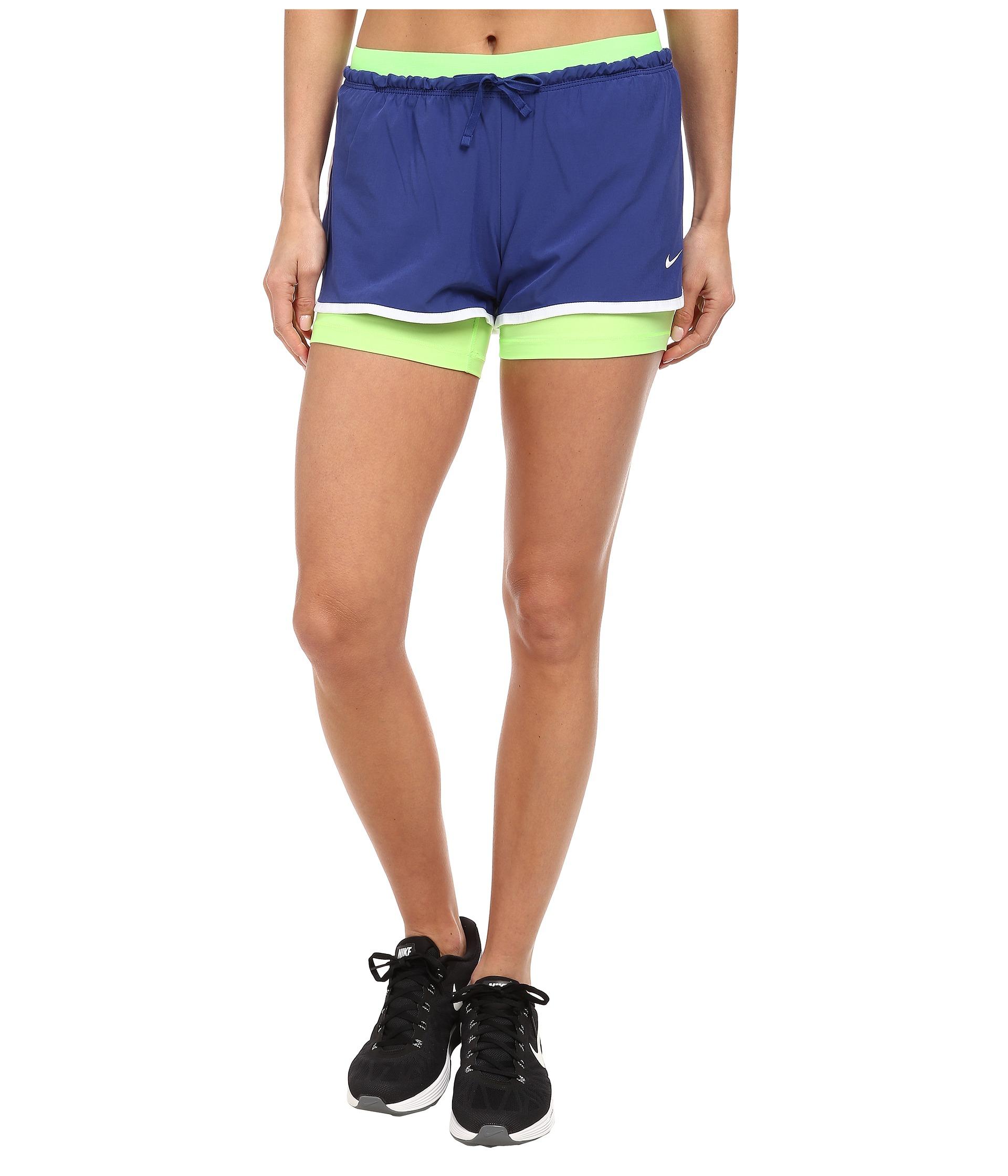 088d0f0526af Lyst - Nike Dri-Fit™ Full Flex 2-In-1 Short in Blue