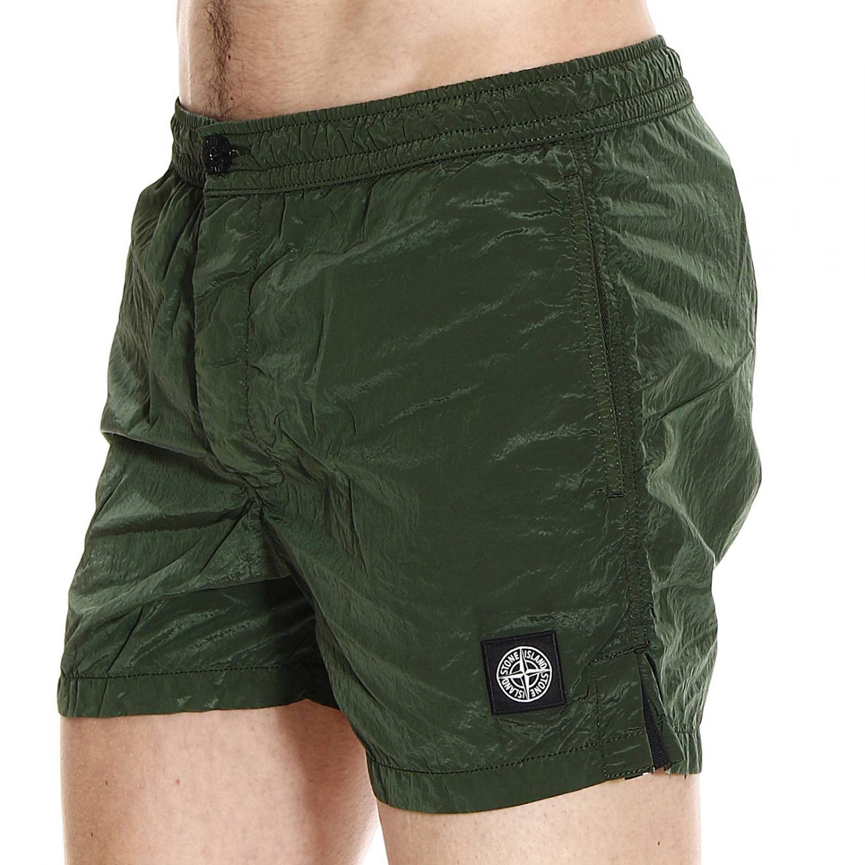 4ec0bf300d Stone Island Beachwear Swimwear Nylon Metal Boxer With Buttons in ...
