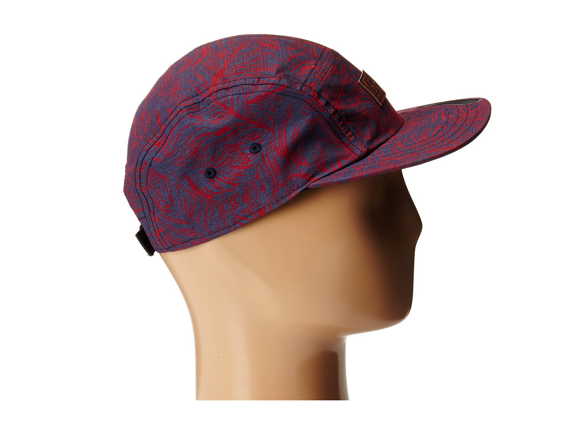 2f68e385fb Lyst - Vans Davis 5 Panel Camper Hat in Red for Men