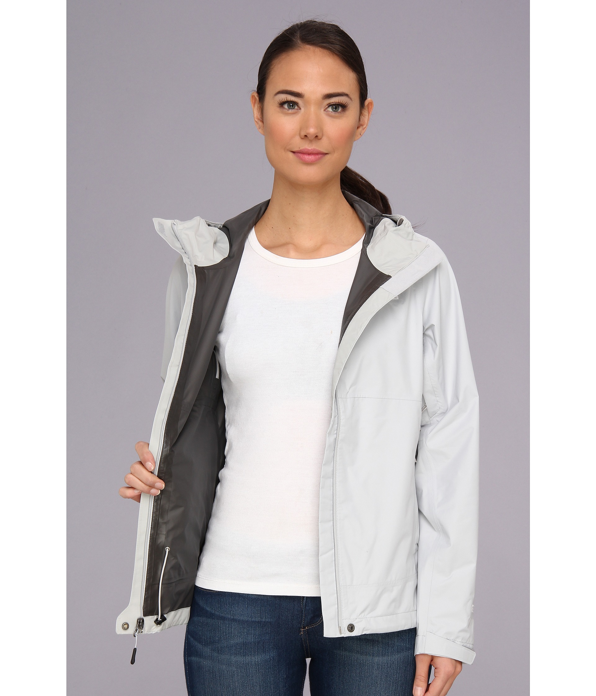 9ad5c4d74 The North Face Gray Dryzzle Jacket
