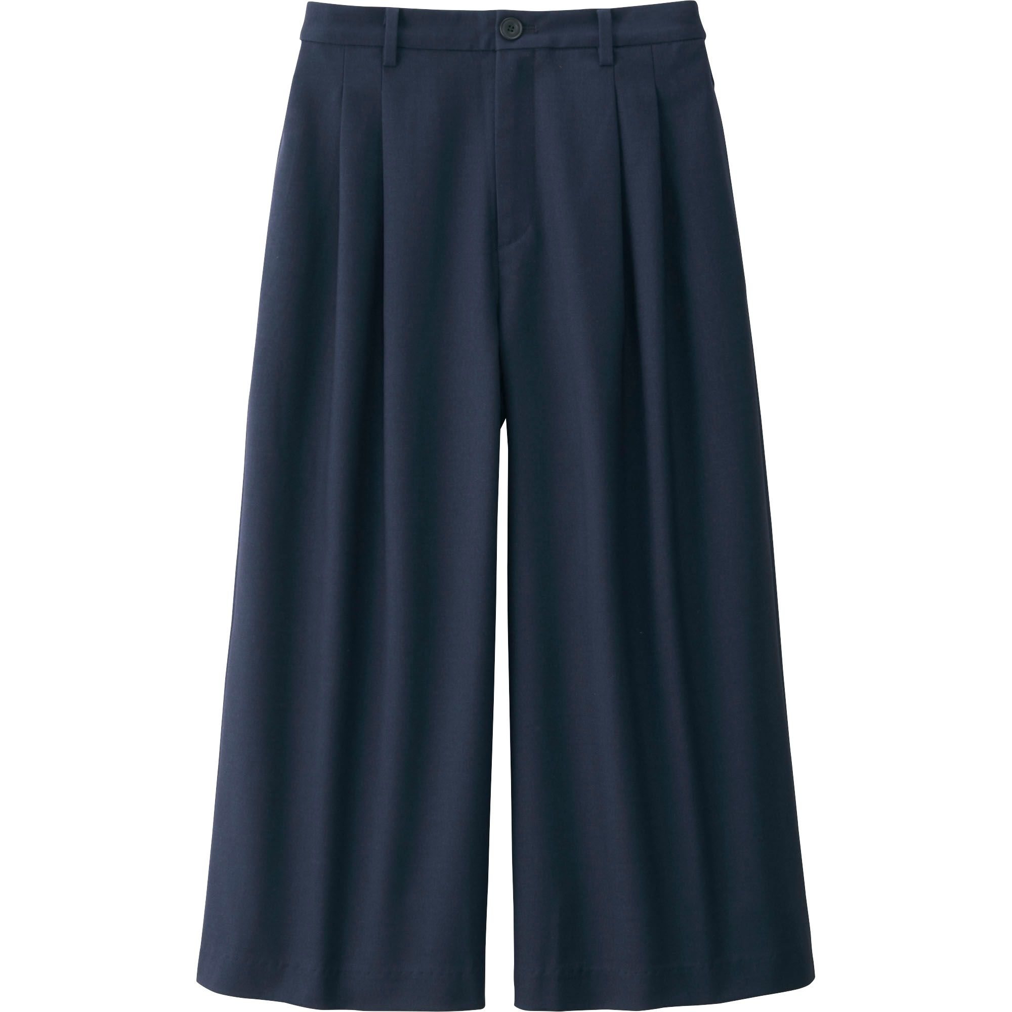 Original Uniqlo Womenu0026#39;s Relaxed Fit Ankle Pants In Blue | Lyst
