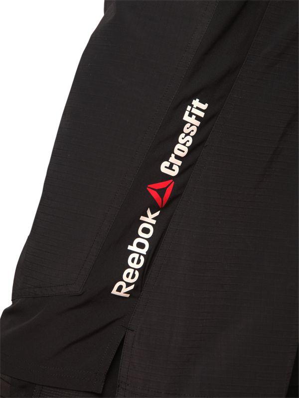reebok crossfit black shorts