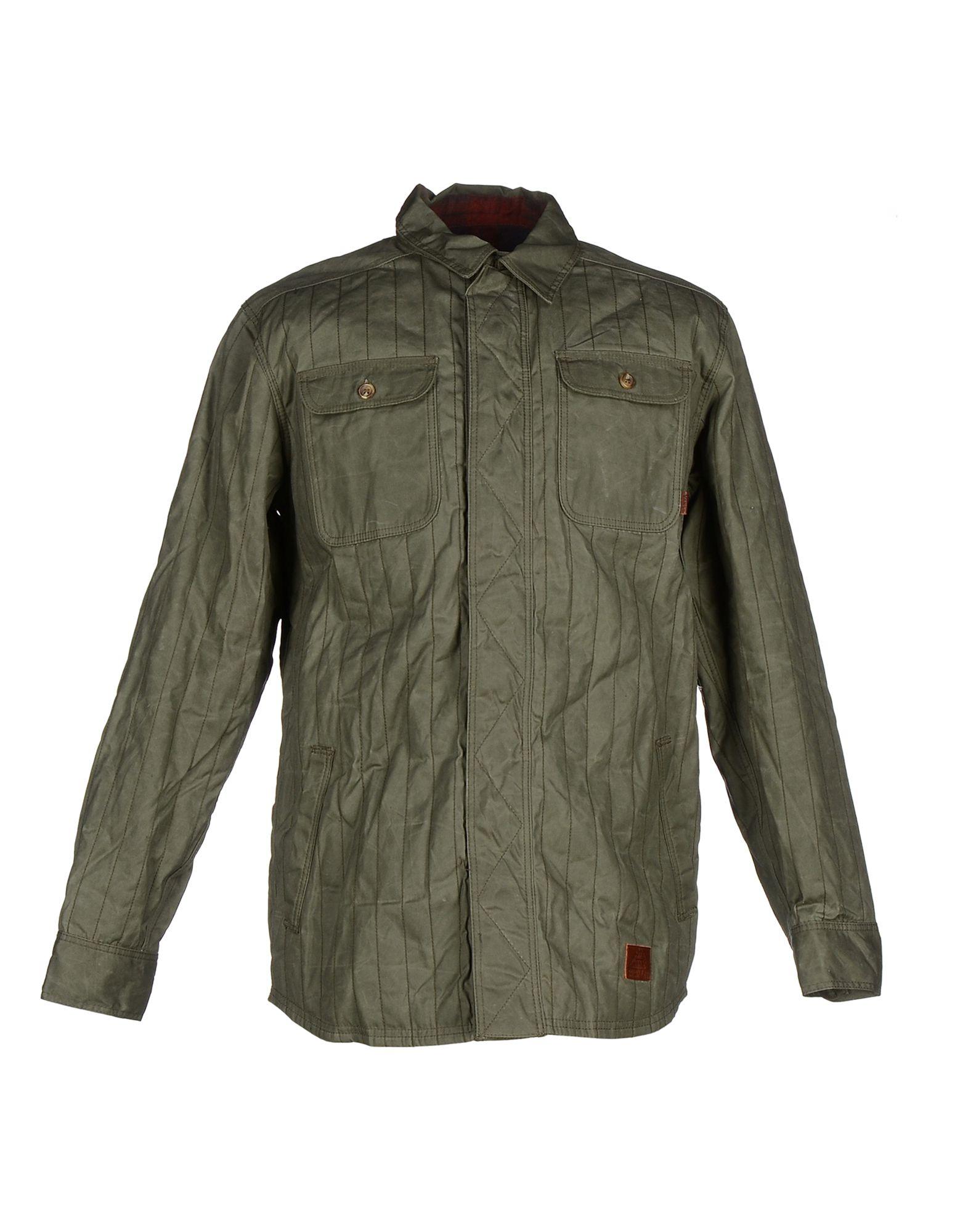 Vans Jacket In Green For Men (Military Green) | Lyst