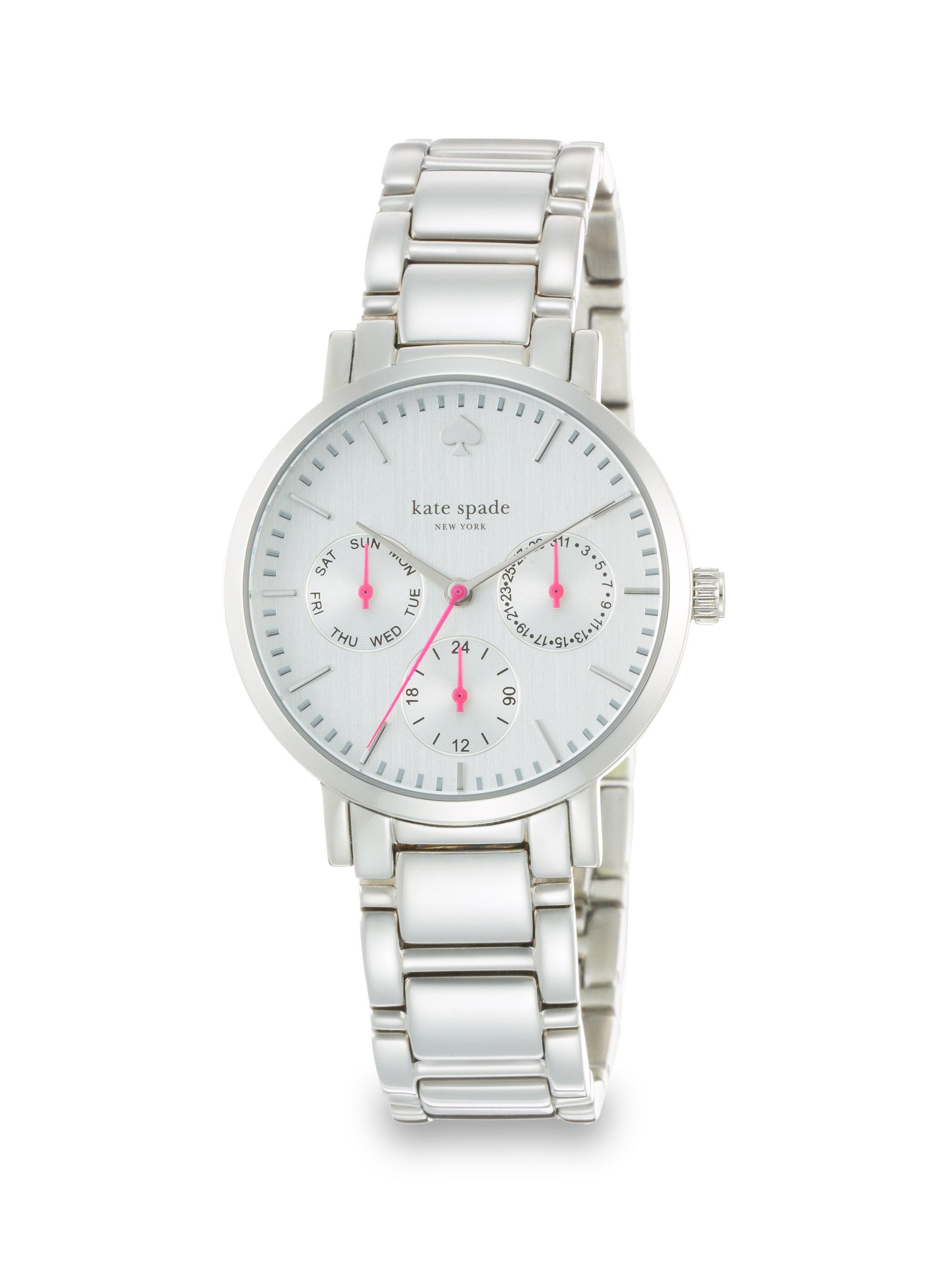 Gramercy Grand Stainless Steel Chronograph Bracelet Watch
