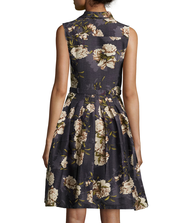 Outlet Inexpensive Black floral dress Samantha Sung Buy Cheap Shop Offer huk734n