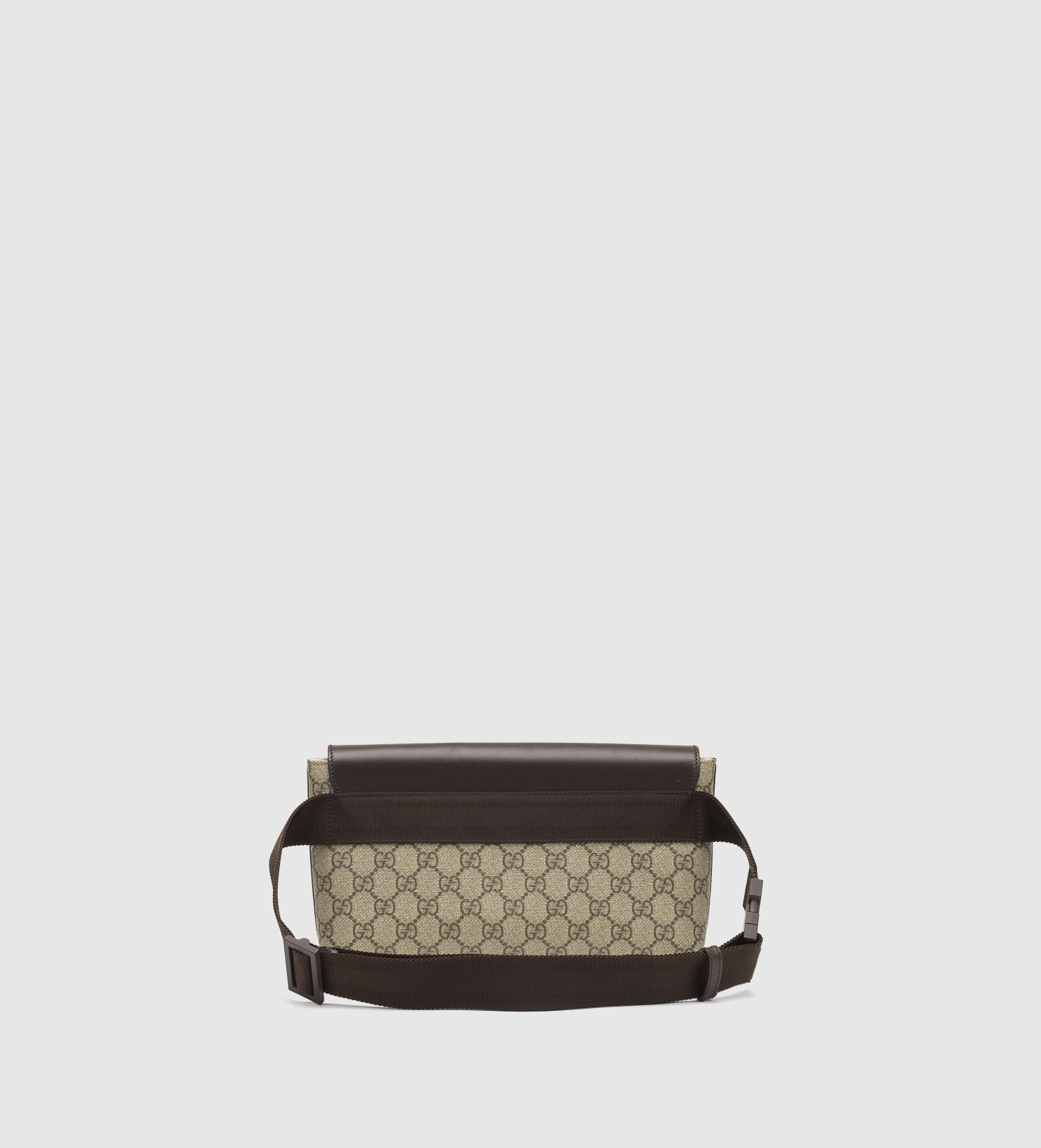 dc732aab227 Lyst - Gucci Gg Supreme Canvas Belt Bag in Brown