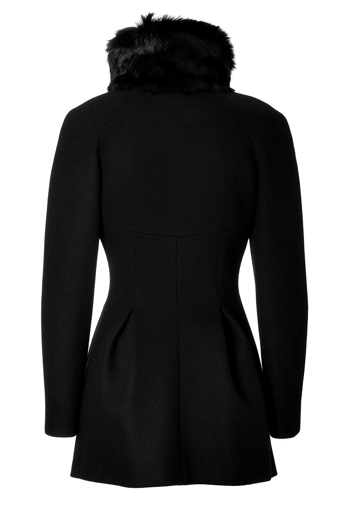 Women Long Black Wool Coat Fur Trim ($ - $2,): 30 of items - Shop Women Long Black Wool Coat Fur Trim from ALL your favorite stores & find HUGE SAVINGS up to 80% off Women Long Black Wool Coat Fur Trim, including GREAT DEALS like Trina Turk Macken Leather-Trim Wool-Blend Coat ($).