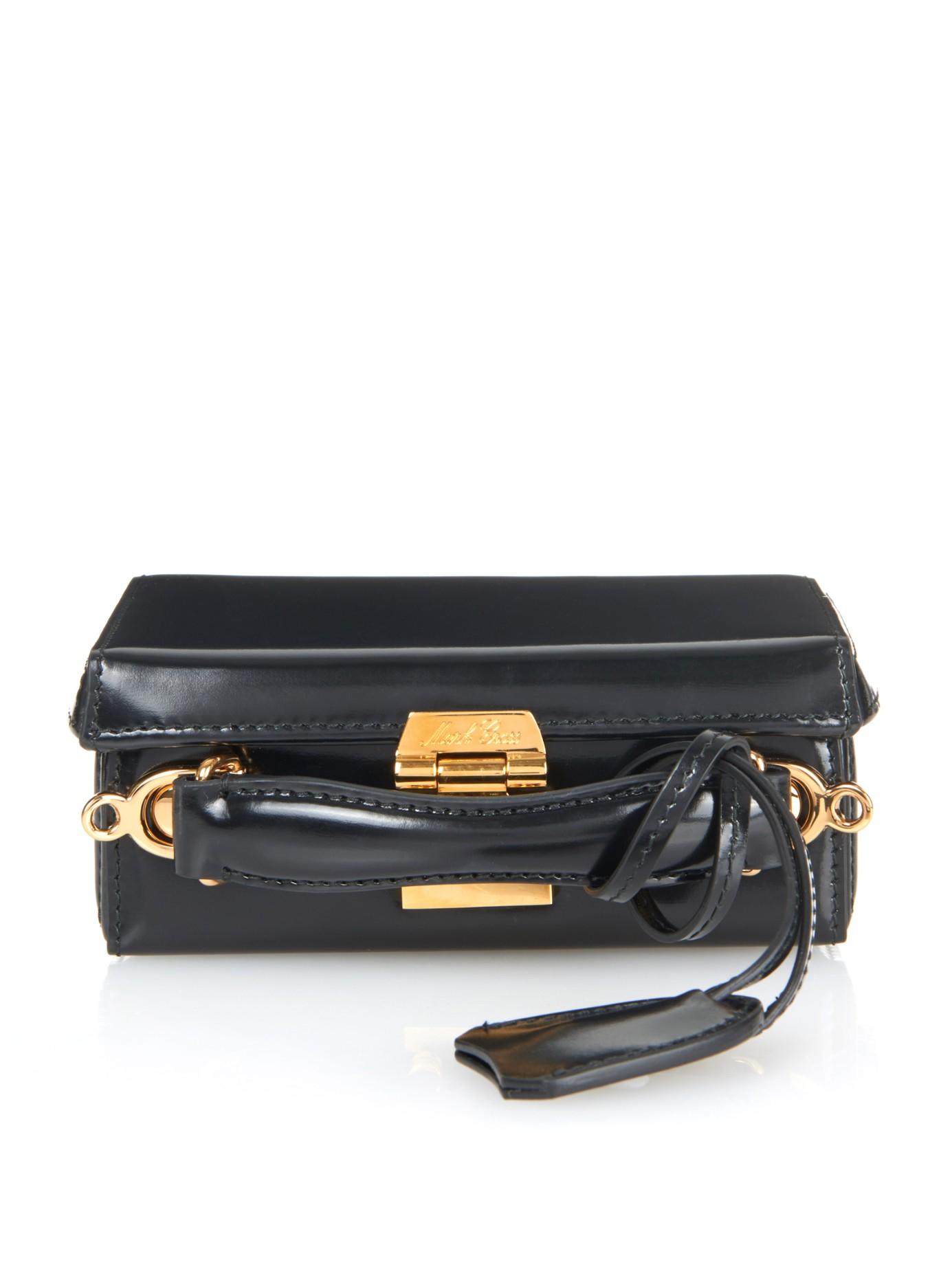 Mini Grace Box handbag - Black Mark Cross Cheap Low Shipping yzPbLj9w