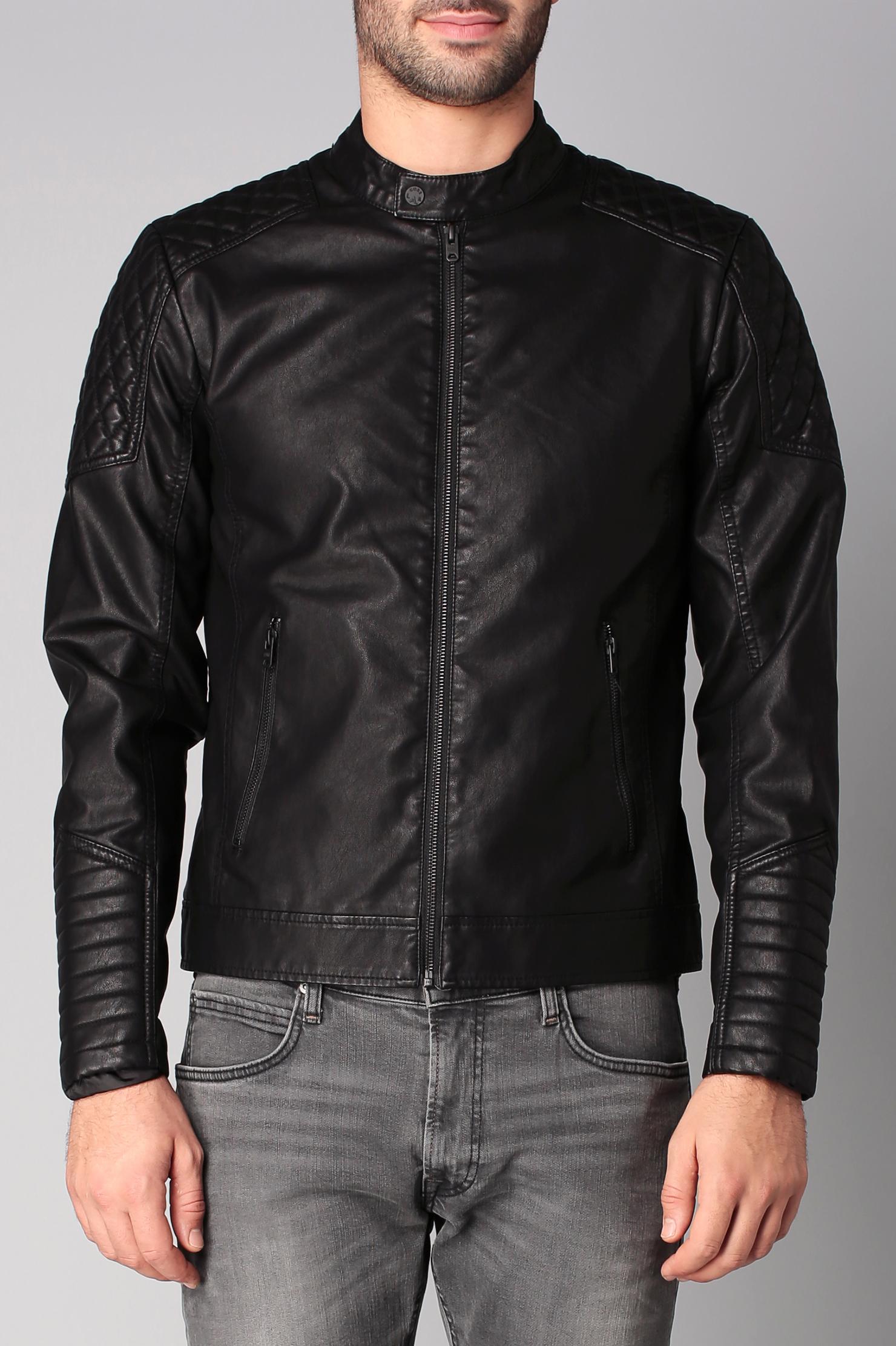 jack jones jacket in black for men lyst. Black Bedroom Furniture Sets. Home Design Ideas