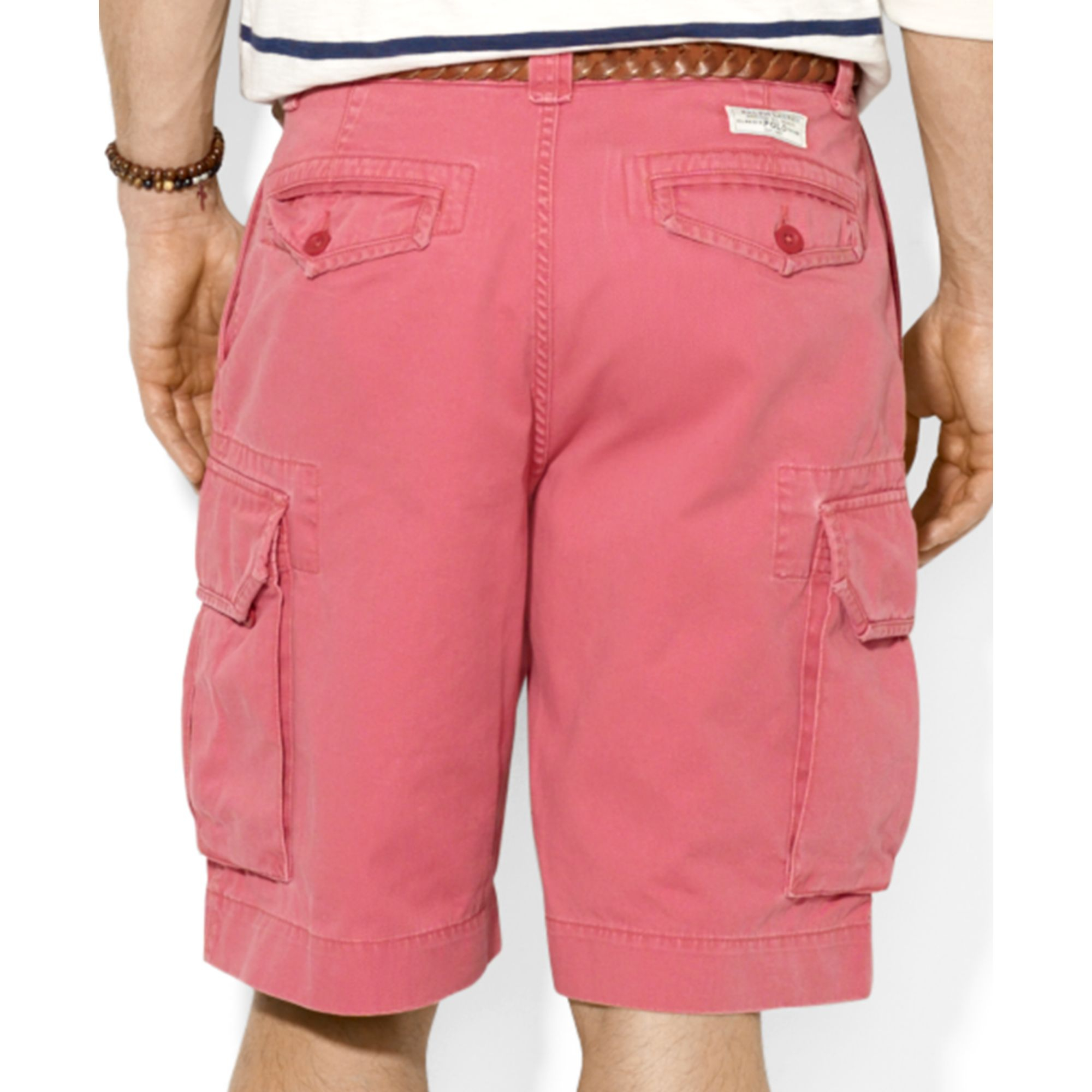 Company Jeans Ralph Mens Polo Lauren Cargo Shorts 29IEWDHYbe