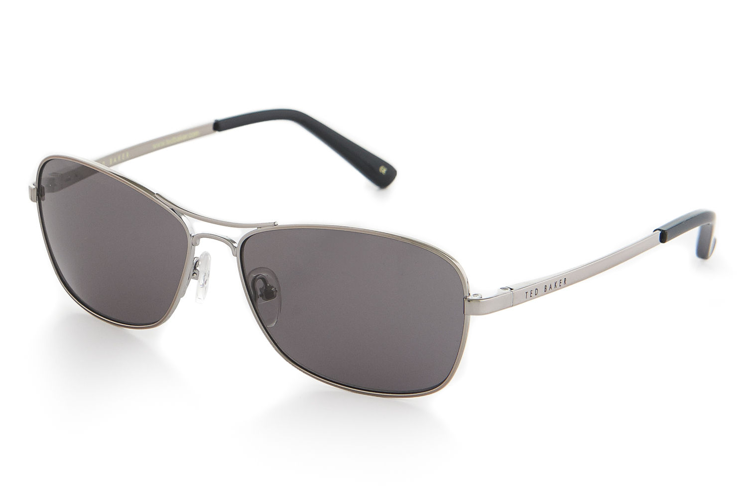 bb212f0251bf Ted Baker Gunmetal Aix Sunglasses in Gray for Men - Lyst