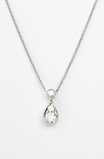 Simple Diamond Necklace Pendant